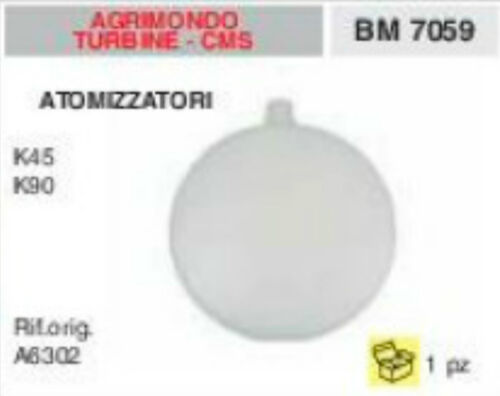 A6302 SERBATOIO BENZINA ATOMIZZATORE AGRIMONDO TURBINE CMS K45 K90 K 45 90