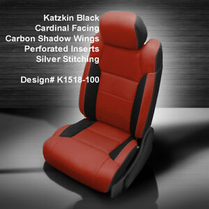 Tremendous Details About 2014 2019 Toyota Tundra Crewmax Katzkin Cardinal Carbon Leather Seat Covers Kit Pabps2019 Chair Design Images Pabps2019Com