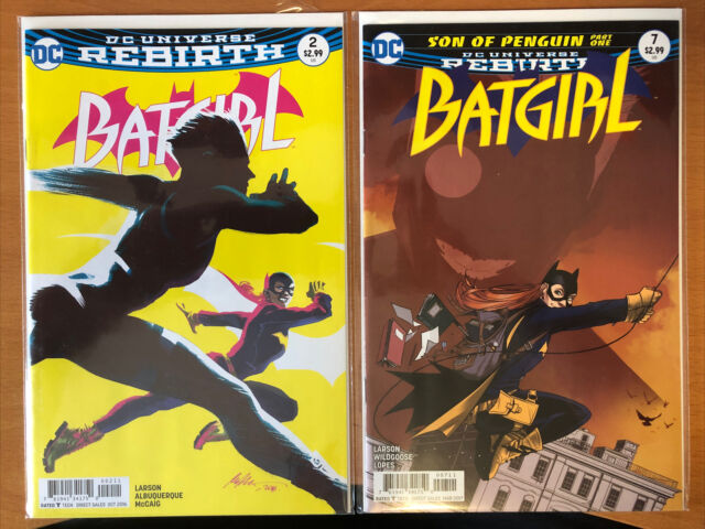 DC Comics Batgirl #2 & 7 VF-NM