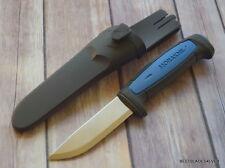 MORA PRO S FIXED BLADE KNIFE RAZOR SHARP EDGE 8 INCH OVERALL WITH HARD SHEATH