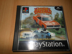 DUKES-OF-HAZZARD-RACING-FOR-HOME-Sony-PlayStation-1-PS1-MINT-COLLECTORS-PAL