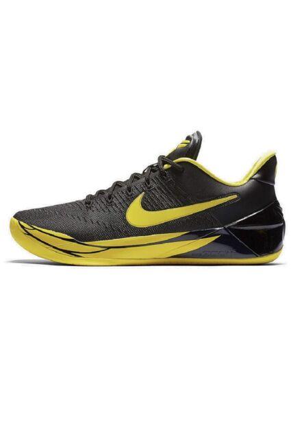 huge selection of f1108 c0fc1 Nike Kobe AD Oregon Ducks Black Yellow Strike Size 11 Shoes 922026 001