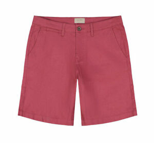 Jachs-Men-Extra-Soft-Cotton-Stretch-Peached-Finish-Chino-Shorts-Red-40