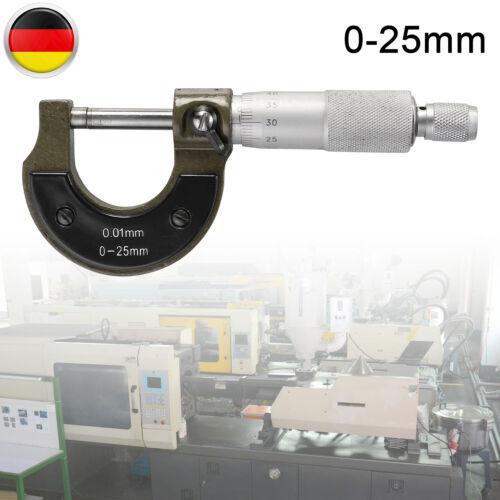 0-25 MM MIKROMETER BÜGELMEßSCHRAUBE MICROMETER MESSSCHRAUBE 0.01MM DIGITALE