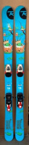125 cm Rossignol junior twintip skis junior ski boots size 4.5 or 5.5