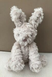 NEW-Jellycat-Small-Fuddlewuddle-Bunny-Rabbit-Soft-Toy-Baby-Comforter-Beige-BNWOT