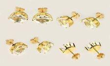 19thC Antique 2½ct Topaz Medieval Saxon Travel Fire Danger Falcon Engrave Amulet