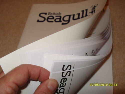 British Seagull Outboard  Engine Service Manual Genuine Not Copy