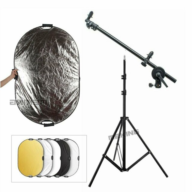 Selens Photo Studio 5 in 1 Reflector & Disc Boom Arm Holder & 2m Light Stand Kit