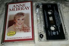 Anne Murray What A Wonderful World Cassette Tape RARE