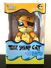 "QEE 8"" JOE LEDBETTER JLED TOXIC SWAMP CAT YELLOW LE 660 TOY2R 2006 DESIGNER TOY"