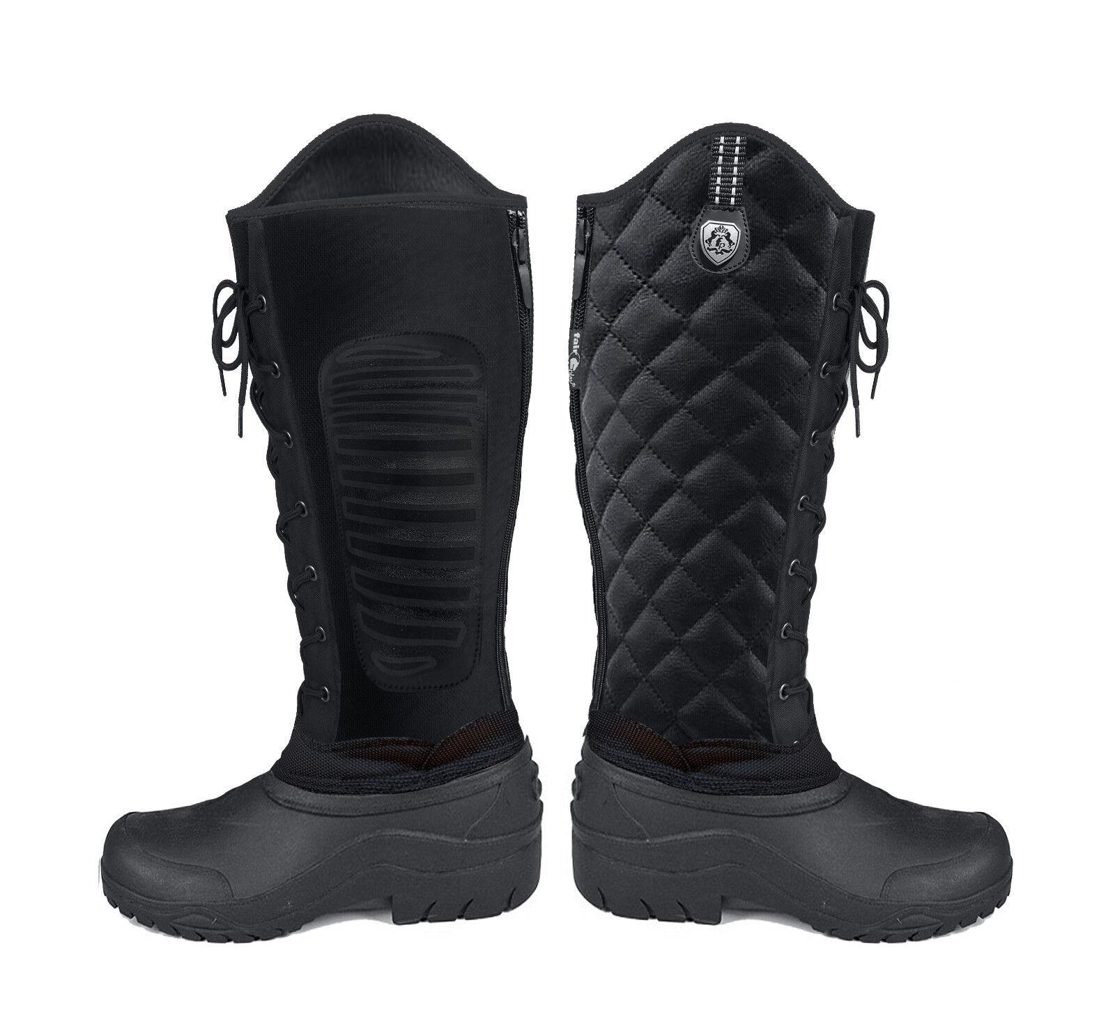 Fair Play Winterreitstiefel Thermo Boots Shiba black Neuheit
