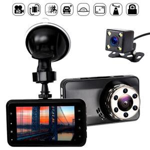 170-Dual-Lens-Camera-HD-1080P-Car-DVR-Vehicle-Video-Dash-Cam-Recorder-G-Sensor