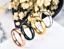 Anello-Anelli-Fede-Fedina-Uomo-Donna-Unisex-Acciaio-Cristallo-Fidanzamento-Love miniatura 6