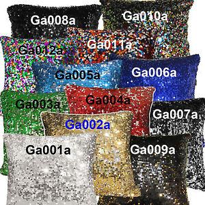 Ga-Gold-Silver-Red-Blue-Green-Black-Sequins-Velvet-Cushion-Cover-Pillow-Case