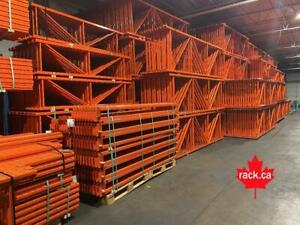 We are Canadas premier stocking pallet rack supplier. REDIRACK - New and used in stock - We ship across Canada Canada Preview
