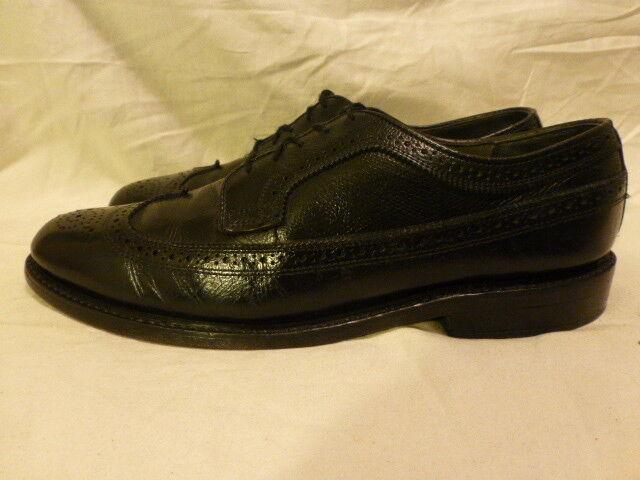 Para Hombre Florsheim Imperial larga kenmoor ala larga Imperial Vestido Negro Guijarro Zapato 11 B 4cd674