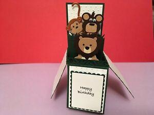 Handmade-card-personalised-pop-up-card-Jungle-Animal-theme