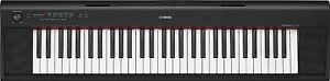 YAMAHA NP12 61-KEY DIGITAL PIANO KEYBOARD with ADAPTOR & 3 DVD SET 3YR WARRANTY