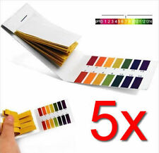 400x PH Test Strips Litmus Paper Tester Urine Saliva Aquarium (5 Packs of 80)
