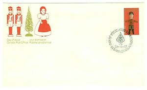 Canada-841-1-1979-35-ct-CHRISTMAS-TOYS-KNITTED-STUFFED-DOLL-MNH-CFDC-CV-1-65