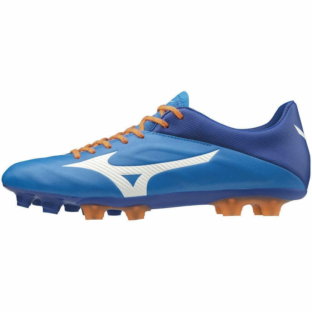 Zapatos de fútbol de pico de Mizuno Rebula 2 V2 SL AZUL P1GA1974 US7.5 (25.5cm)