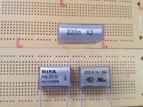 33nF 47nF 68nF 150nF 220nF 330nF 275VAC  X2 Capacitor EMI Supressoin PME271M