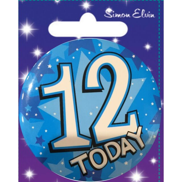 Personalised Girls Age Badge,5th,6th,7th,8th,9th,10th,11th,12th,13th,14th,15th