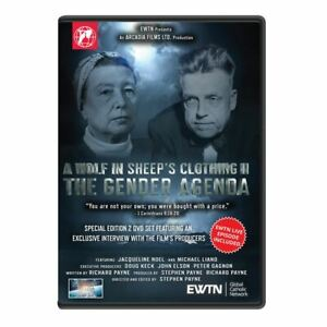 A WOLF IN SHEEPS CLOTHING II. GENDER AGENDA EXTENDED EDITION. AN EWTN 2-DISC DVD