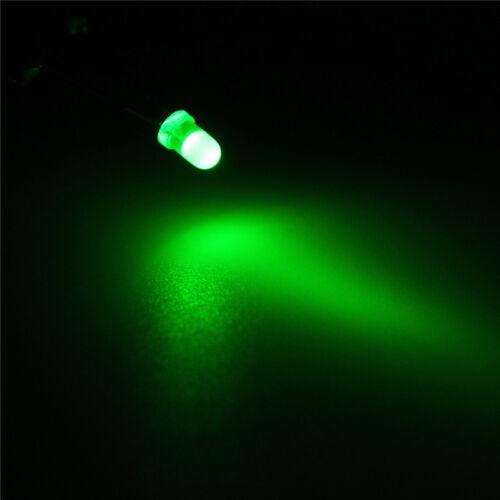 Kit de diodo LED 500Pcs//lot 3 mm Blanco Amarillo Rojo Azul Verde Hágalo usted mismo kit Set Lámpara Bombilla