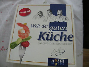 Die Welt der guten Küche Feinschmecker Brettspiel Johan Lafer
