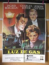 LUZ QUE AGONIZA LUZ DE  GAS INGRID BERGMAN CHARLES BOYER