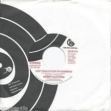 MERRY CLAYTON  * 45 * Baretta's Theme * 1975 * UNPLAYED DJ PROMO Rolling Stones