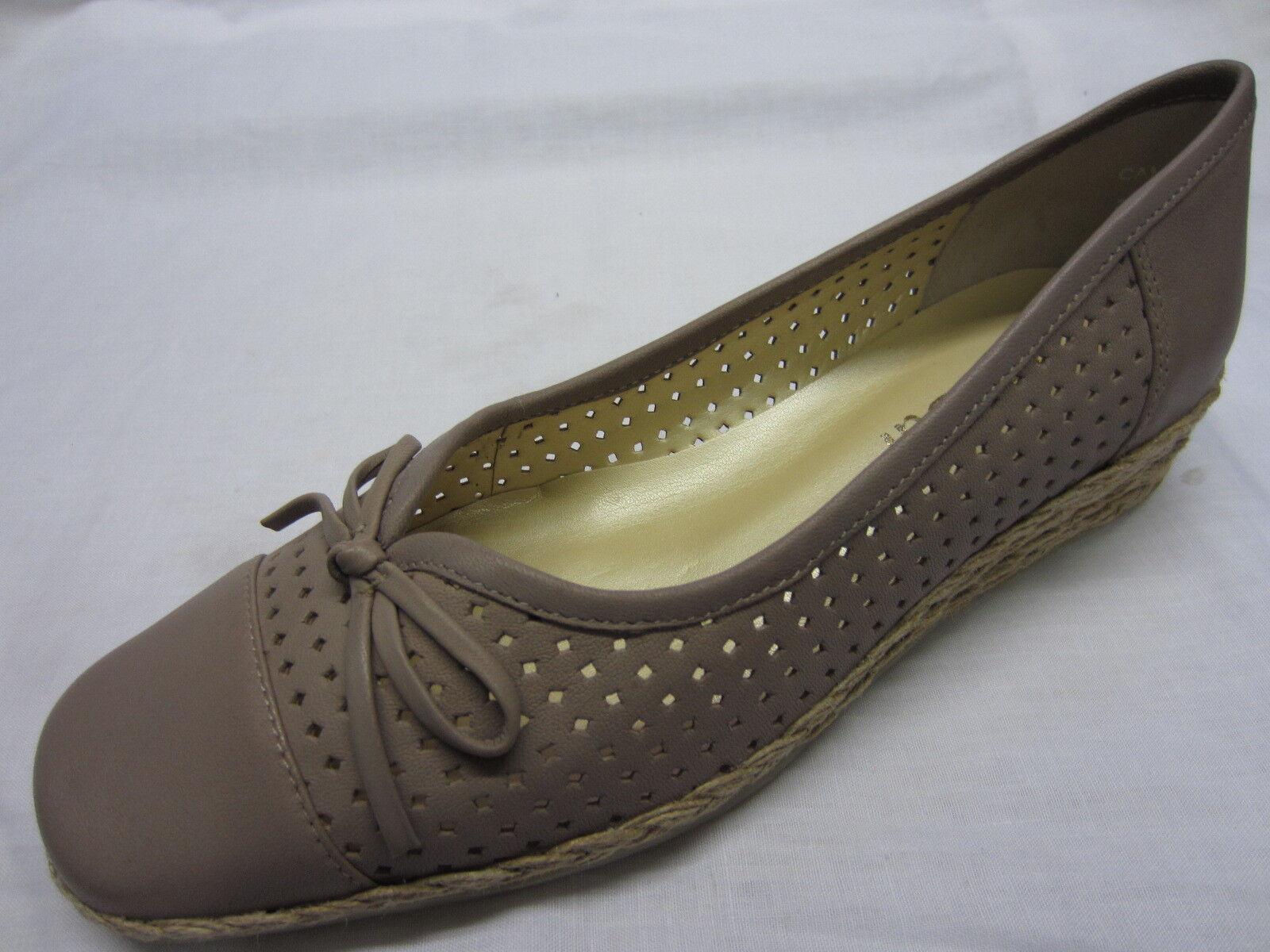 Damen Van Dal Schuhe Leder in braugraues Leder Schuhe 'Cambria' a0c91d