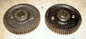 1949-64-AJS-Matchless-twin-500-650-pair-cam-drive-gears