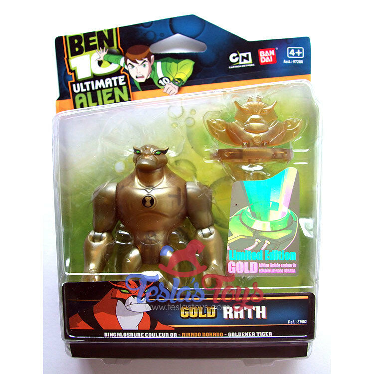 Ben 10 Ultimate Alien Special Edition Action Figure - Rath (Gold)