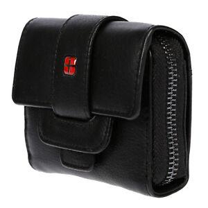 Kleine-Damen-echt-Leder-Geldboerse-Muenzboerse-Brieftasche-mit-RFID-Schutz-Blocker