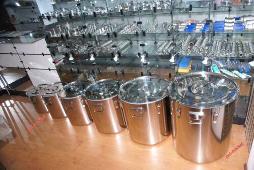 Professional Stainless Steel Container INOX moonshine wine spirits oil alcohol