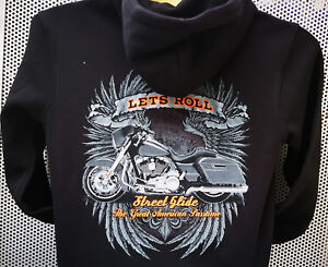 Streetglide-Harley-Motorcycle-Hoody-S-5XL-Kapuzenpullover-Plus-Size-Bagger