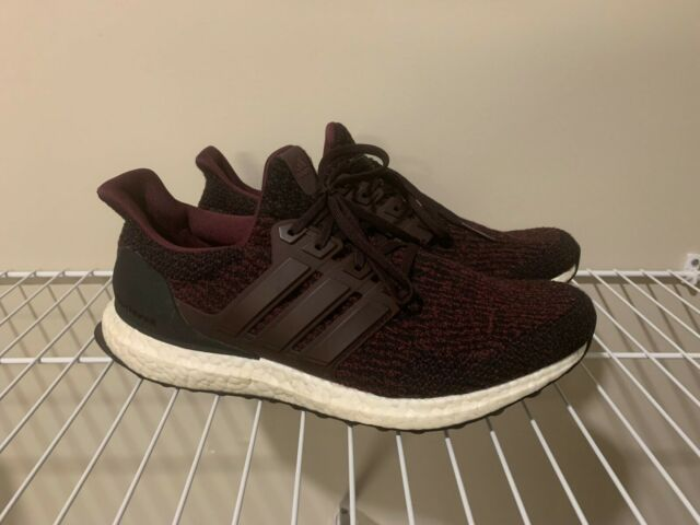 timeless design half price uk store 2017 ADIDAS ULTRA BOOST 3.0 DEEP BURGUNDY RED CORE BLACK WHITE NMD R1  S80732 9.5