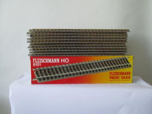 Fleischmann H0 6101 Gerades Profi-Gleis 200 mm 10 Stück m.OVP  WH8937