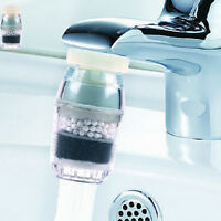 Kitchen Home Activated Carbon Faucet/Tap Water Filter Purifier For Save Water FG