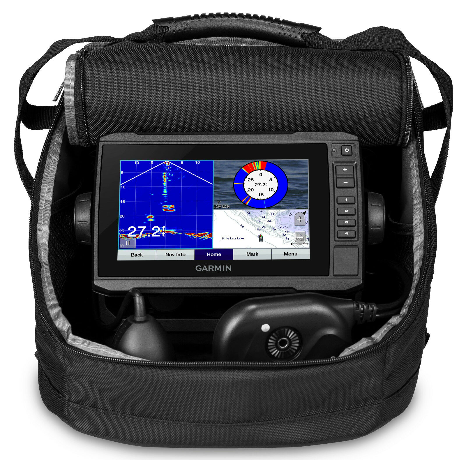 Garmin Panoptix Ice Fishing Bundle Combo w  ECHOMAP Plus 73cv 010-01893-20