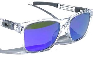 2300625429 NEW  Oakley Catalyst Matte CLEAR w Violet Iridium lens Sunglass ...