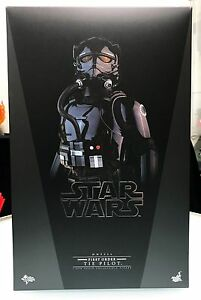 Hot-Toys-Star-Wars-1-6-VII-7-Force-Awakens-First-Order-Tie-Pilot-Figure-New-MISB