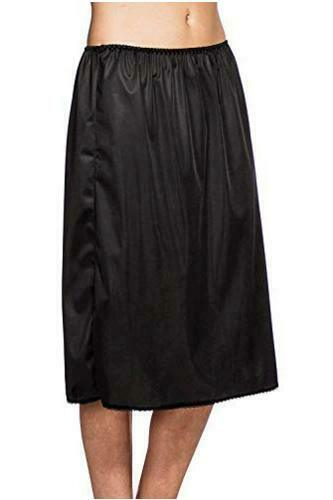 """Patricia Womens 25"""" Silky Tailored Lace Trim Unde… - image 1"""