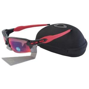 f66eb40126 Oakley OO 9295-08 POLARIZED FLAK 2.0 Black Ink OO Red Iridium Mens ...