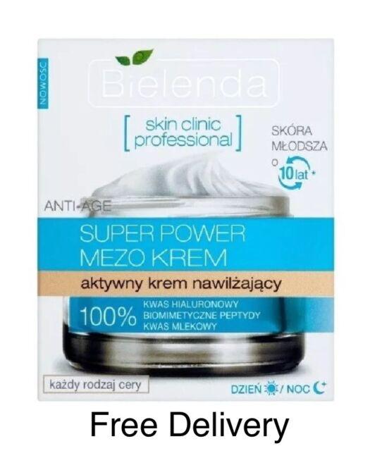 Bielenda Skin clinic professional Super Power Mezo Cream active moisturizing