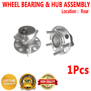 Note: FWD Convertible, Sedan 4-Wheel ABS 2004 fits Chrysler Sebring Rear Wheel Bearing and Hub Assembly Left and Right Included with Two Years Warranty - Two Bearings