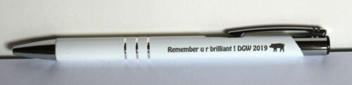 10//20//25//50//100 Promotional personalised pen *CALYPSO* blue// black ink various